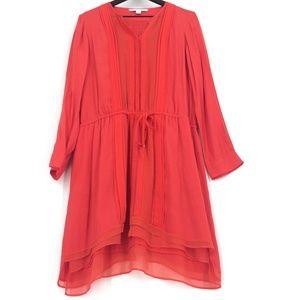Diane Von Furstenberg Dresses - DIANE VON FURSTENBERG New Slice Drawstring Dress